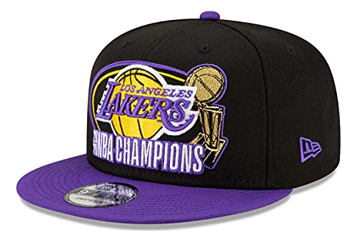 New Era - Gorra NBA Los Angeles Lakers 2020 Multi Champs 9Fifty Snapback - Negro Negro Talla única