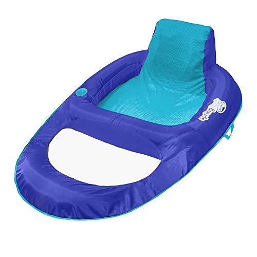 SwimWays Spring Float Recliner XL (Blue/Aqua)