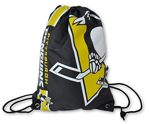 Officiel National de Ligue de hockey Fan Shop authentique Cordon de serrage NHL Dos Sack (Pittsburgh Penguins)