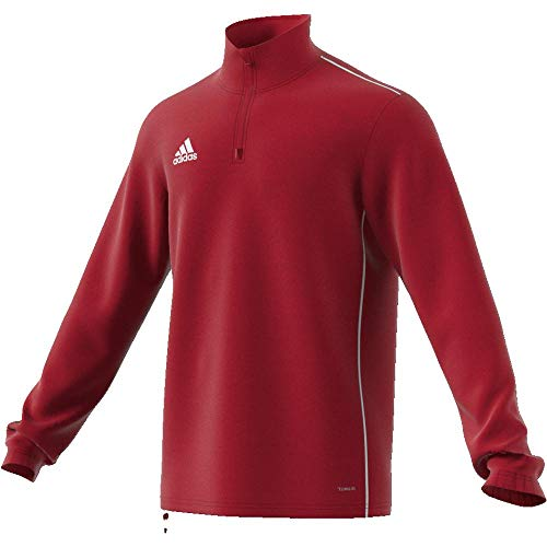 adidas CORE18 TR Top Camiseta de Entrenamiento, Hombre, Rojo (Rojo/Blanco), M