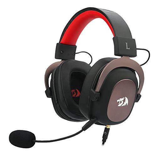 Redragon H510 Zeus 2 - Auriculares Headset cómodos para Gaming -...