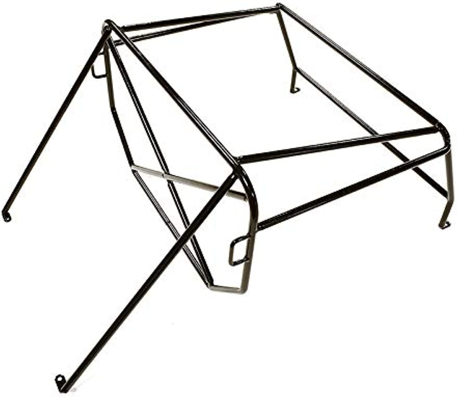 Integy RC Model Hop-ups C28321BLACK Realistic Outer Roll Cage for 1 10 D90 Pickup Gen-2 Scale Body
