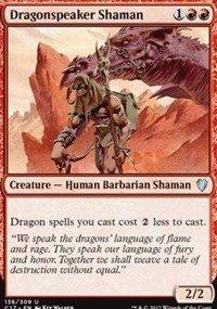 Magic The Gathering Dragonspeaker Shaman Sciamano Dracofono - Commander 2017