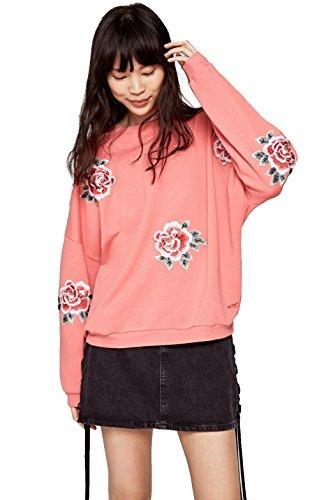 Pepe Jeans Rose Sudadera  Rosa  Medium para Mujer