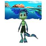 Zzlush Luca Peluches Sea Monster-Alberto Seamonster Toy Cartoon Stuffed Animals - Niño y niña 16 en Regalos para el día de los niños, Navidad, cumpleaños
