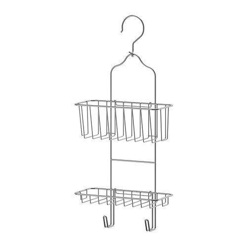 IKEA immeln - Dusche Aufhänger, zwei Ebenen, verzinkt - 24x53 cm