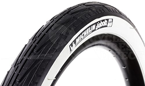 Michelin CITY J - Cubierta para bicicleta de paseo, 37-451 (20X1 3/8)