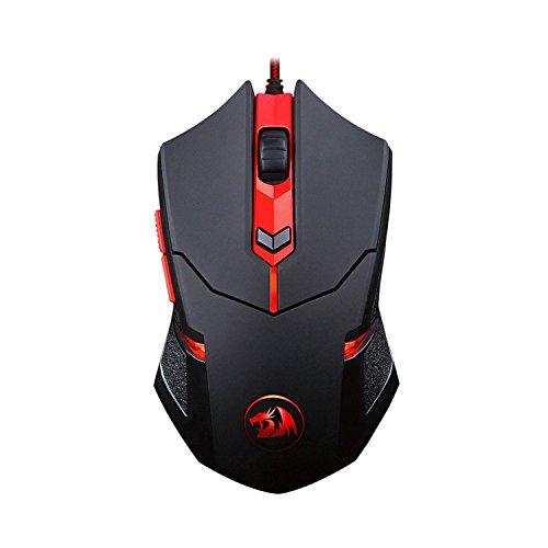 bbfly de Redragon M601centrophorus de 2000dpi Gaming Ratón para PC,...
