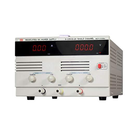 Précis Test de vieillissement de maintenance de l'alimentation MCH-K1205D de l'alimentation haute tension 5A Durable (Size : 110V)