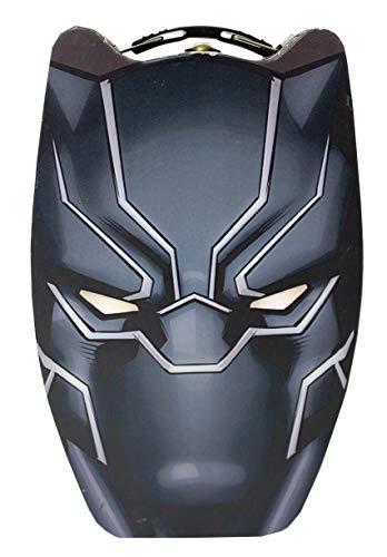 The Tin Box Company 748207-12 Black Panther Head Shape Tin Carry All