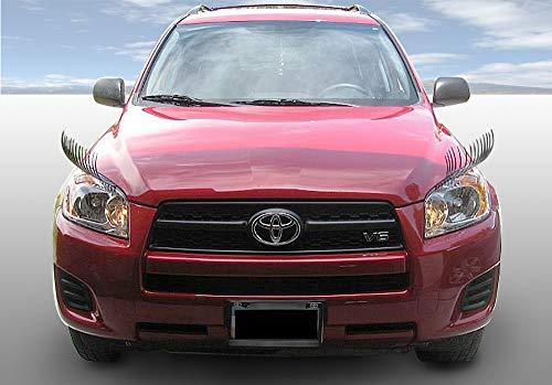 Carlashes for Toyota RAV4 (2006–Present) - Car Eyelashes - Classic Black