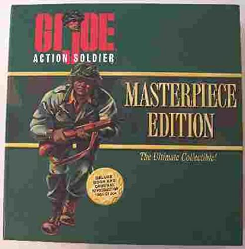 GI Joe Masterpiece Edition The Ultimate Collectible Aktion Soldier with Deluxe Book and Original Reproduktion 1964  Joe with schwarz Hair
