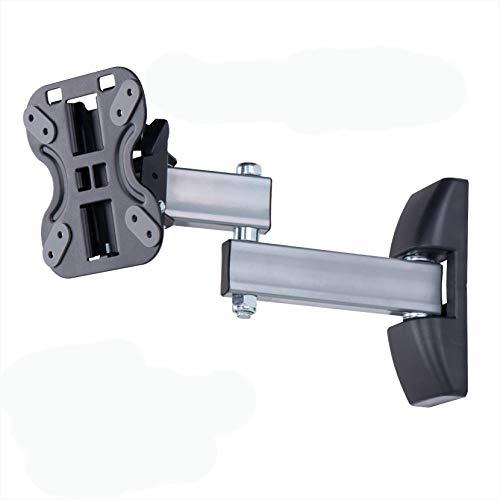 Amazon Basics Performance vollbewegliche TV-Doppelarm-Wandhalterung für 58,4-127 cm (23-50 Zoll) TV-Geräte