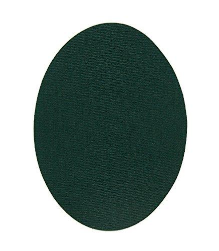 6 rodilleras niños color Verde botella termoadhesivas de plancha. Coderas para proteger tu ropa y reparación de pantalones, chaquetas, jerseys, camisas. 10,5 x 8 cm. Ref. 63. Verde botella
