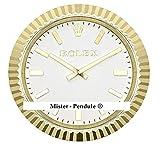 VOObeedkcltth Rolex Daytona - Reloj de pared para sala de estar, color oro rosa