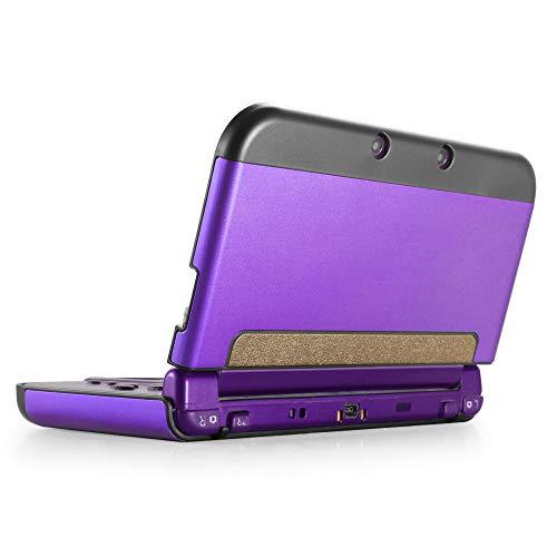TNP New 3DS XL Hülle, New 3DS XL Hülle, Aluminium-Schutzhülle für New Nintendo 3DS XL Konsole 2015, Spiele & Zubehör, strapazierfähige Cover Plate mit ultraschlankem Design für New 3DS XL/LL, Violet