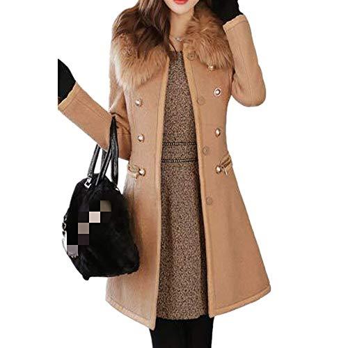 N\P Abrigo de lana de doble cara en otoño e invierno