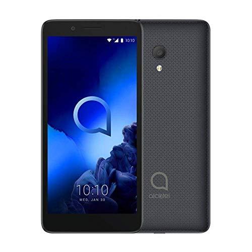 "Alcatel 1C 2019 Smartphone 4G Dual Sim, Display 5"" FWVGA, 8GB, 1GB RAM, Android, Batteria 2000mAh, Nero [Italia]"