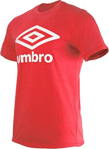 Umbro Herren Fw Large Logo Cotton Tee T-Shirt, Rot (Goji Berry GSG), X