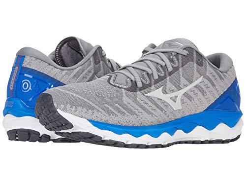 Mizuno Men's Wave Sky 4 WAVEKNIT Running Shoe, Frost Grey, 9.5 D US
