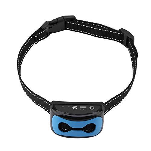 Fybida Perro Detección de ladridos para Perros Collar antiladridos para Perros Collar de Entrenamiento para Perros Ajustable con pitido, vibración y Golpes