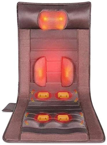Memory Foam Massage Mat with Heat 6 Therapy Heating Pad 10 Vibration Motors Massage Mattress Pad Full Body Massager Cushion Relieve Neck Back Waist Legs Pain Uptodate