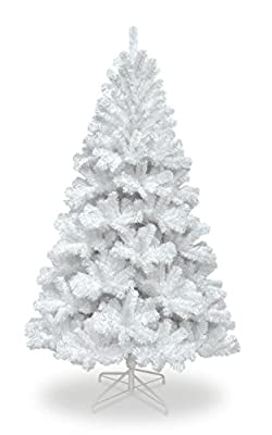 8ft Colorado White Spruce Christmas Tree 1097 Tips,Get A FREE Storage Bag worth ?14.99 With Your Order