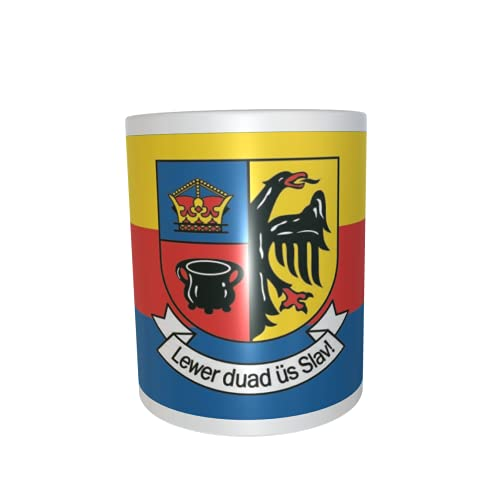 U24 Tasse Kaffeebecher Mug Cup Flagge Nordfriesland