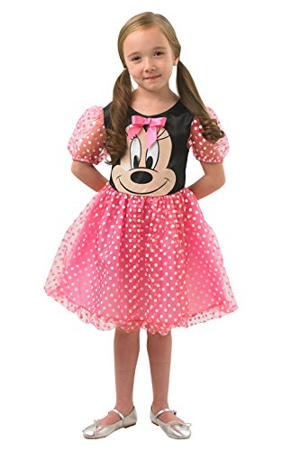 Rubie 's 005812OFFIZIELLER Minnie Mouse, Kinder Kostüm–Medium Alter 5–6