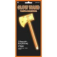 グロースティックワンド - オレンジの斧 パーティーアクセサリー