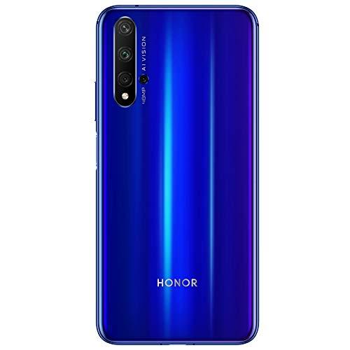 Honor 20 (Sapphire Blue, 6GB, 128GB Storage) - 48m AI Quad Rear Camera & Kirin 980 Processor.