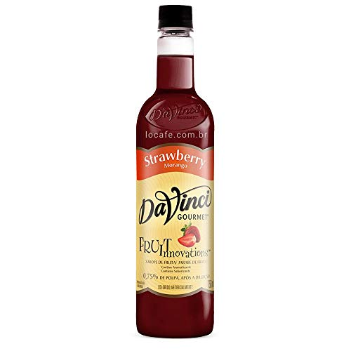 Xarope Davinci Strawberry Innovation 750Ml
