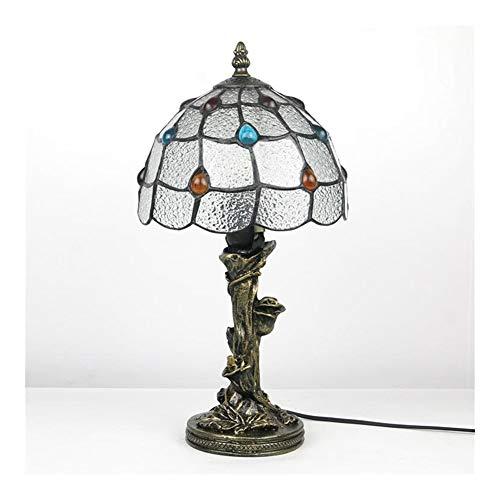 LiuliuBull Tischlampe Tiffany-Tischlampe Nachttischlampe Schlafzimmerlampe Großhandel Retro Amazon Ebay Studierlampe Beleuchtung Beschläge Beleuchtung