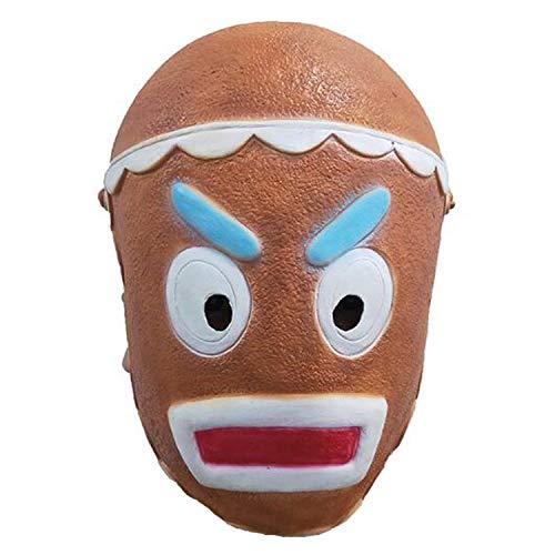 Fröhliche Marauder Maske Spiel Kampf Ingwer Gunner Haut Cosplay Latex Masken Für Kinder Erwachsene Helm Voller Gesichtsmaske