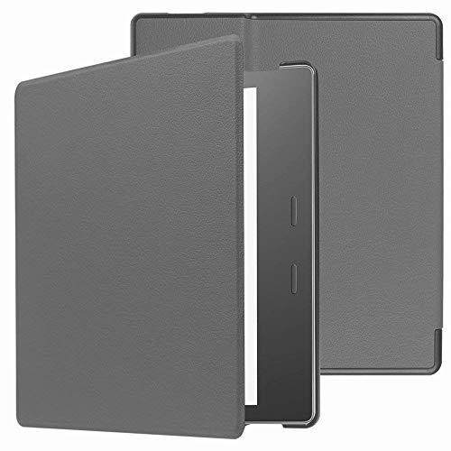 Capa para Kindle Oasis 2019-2021 (aparelho com temperatura de luz ajustável) - Cinza
