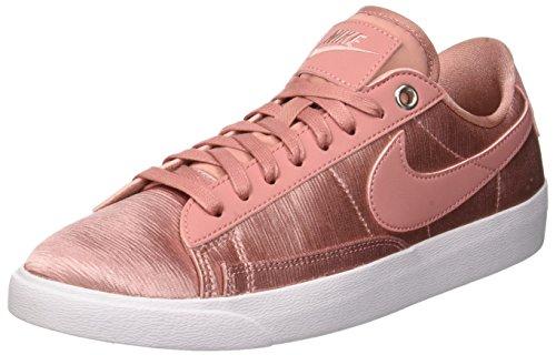 Nike W Blazer Low SE, Scarpe da Ginnastica Donna, Rosa (Rust Pink/Rust Pink/White 600), 42.5 EU