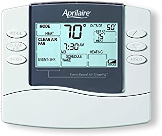 Aprilaire 8476 Thermostat, Programmable Dual Powered Universal Thermostat