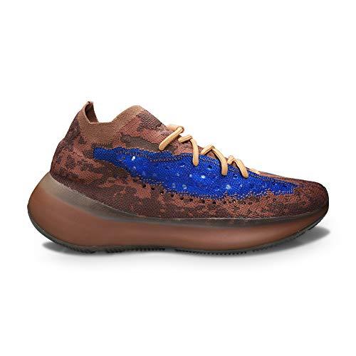 adidas Hombres Yeezy Boost 380 *Rare* 'Azure' - FZ4986 - Azure, color Marrón, talla 44 2/3 EU