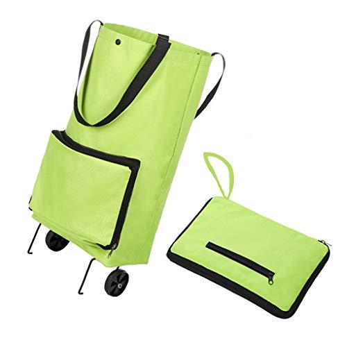 KILLM Multi-Funktions-Schlepper-Beutel-Speicher Gepäck tragbare Falten Dual-Use-Schlepper Bag Einkaufstasche