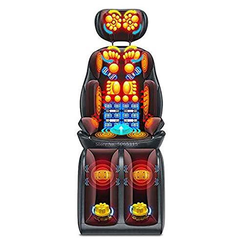 Sedile Massaggiante Shiatsu Sedie E Materassini per Massaggi Elettrici Cuscino da Massaggio Multifunzionale per Il Collo Vita Spalla Spalla per Gli Anziani