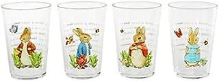 Peter Rabbit Acrylic Juice Glasses-Set of 4