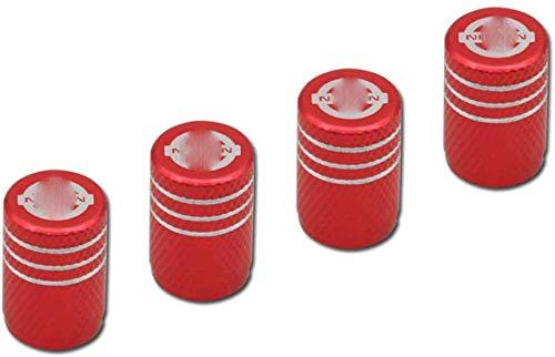 4 Stücke Ventilkappen,Reifenventilkappen für Nissan,wasserdicht Anti-Stickerei staubdicht Auslaufsicher Auto Modellieren Zubehör