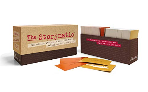 The Storymatic Classic - 540 Unique Cards - Tell Stories, Play Games, Make Art, and More -...