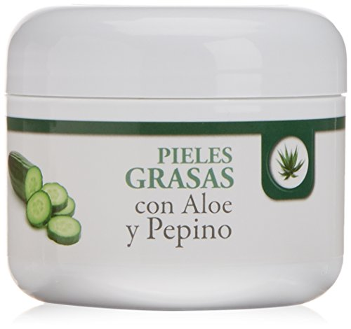Bionatural 11510 - Cremigel para pieles grasas con aloe y pepino, 100 ml