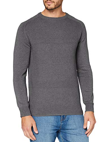Springfield 1408542 Pullover Sweater, Gris, M Mens