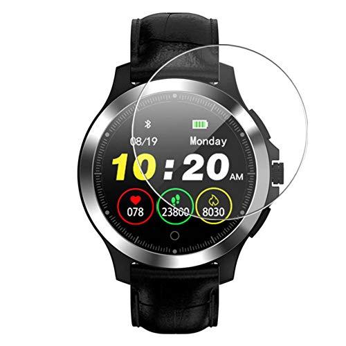 Vaxson 3 Stück 9H Panzerglasfolie, kompatibel mit W8 Smartwatch smart watch Panzerglas Schutzfolie Displayschutzfolie Bildschirmschutz Intelligente Uhr Armband Smartwatch