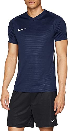 Nike Tiempo Premier Football T- T-shirt Homme, - Bleu - FR : M (Taille Fabricant : M)