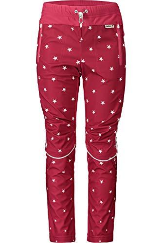 Maloja Langlaufhose Skihose PleifU. Nordic Pants rot wasserabweisend elastisch (Kindergröße M)