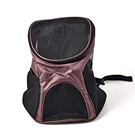 CWBAQ Pet Backpack Dog Bag Out Portable Breathable Folding Pet Carrier Suitable For Puppy Dogs Cats Travel Bag