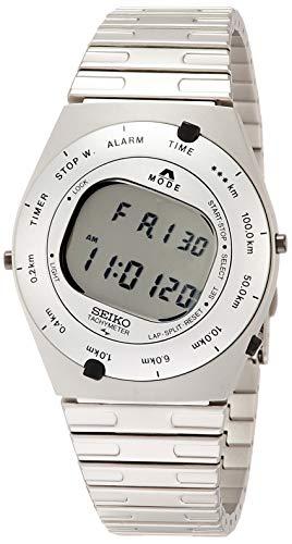[セイコーウォッチ] 腕時計 セイコー セレクション ジウジアーロ・デザイン限定モデル 限定3,000本 復刻デジタル SBJG001 メンズ シルバー